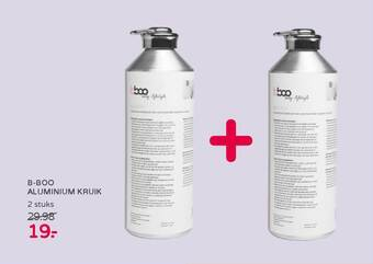B-Boo Aluminium Kruik