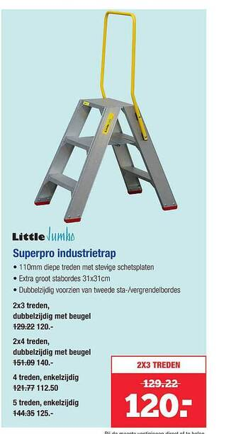 Little Jumbo Superpro Industrietrap
