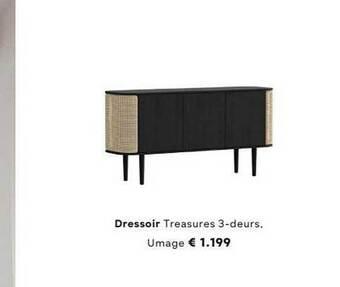 Dressoir Treasures 3-Deurs