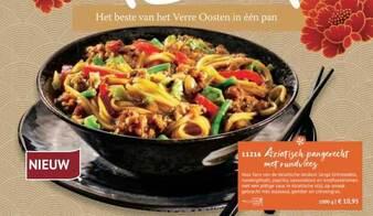 Aziatisch Pangerecht Met Rundvlees 1000g