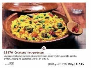 Couscous Met Groenten 600g