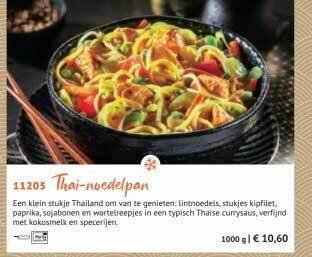 Thai-Noedelpan 1000g