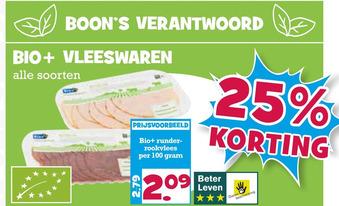 Bio+ Vleeswaren