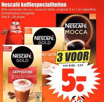 Nescafé koffiespecialiteiten
