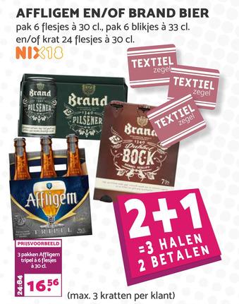 Affligem en/of Brand Bier