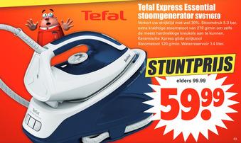 Tefal Express Essential stoomgenerator sv6116E0