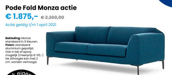 Pode Fold Monza actie