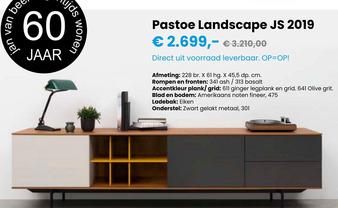 Pastoe Landscape JS 2019