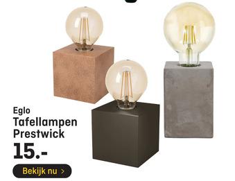 Eglo Tafellampen Prestwick