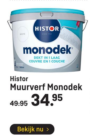 Histor Muurverf Monodek 10L