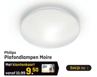 Philips Plafondlampen Moire
