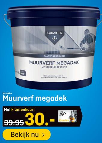 Karakter Muurverf Megadek 10L