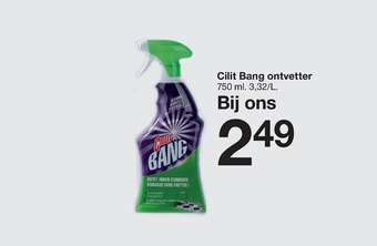 Cilit Bang ontvetter 750 ml