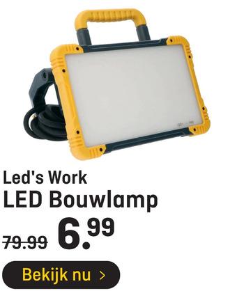 Led's Work LED Bouwlamp