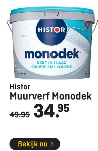 Histor Muurverf Monodek