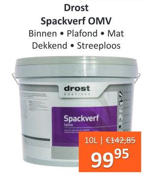 Drost Spackverf OMV 10L