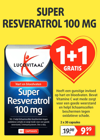 Super Resveratrol 100mg