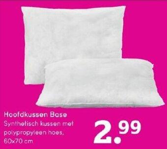 Hoofdkussen Base 60x70 cm