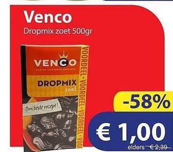 Venco Dropmix Zoet 500gr