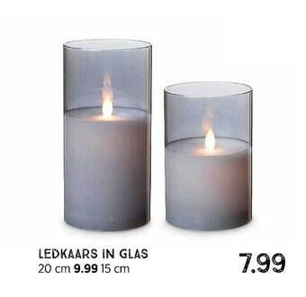 Ledkaars In Glas
