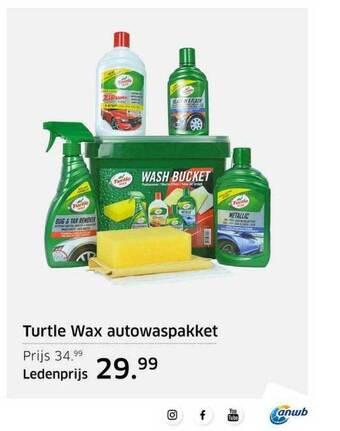 Turtle Wax Autowaspakket