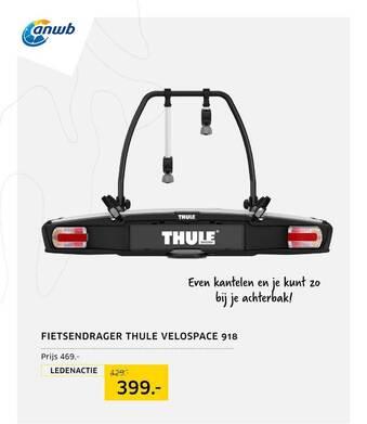 Fietsendrager Thule Velospace 918