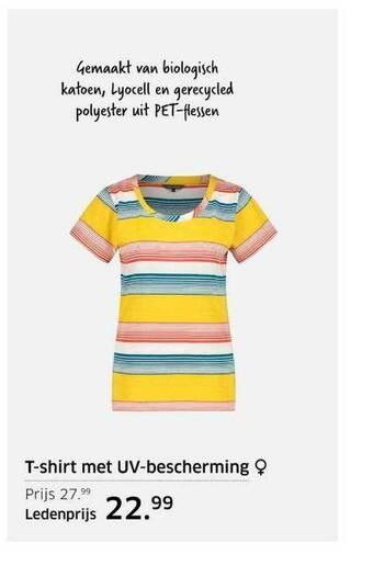 T-Shirt Met UV-bescherming