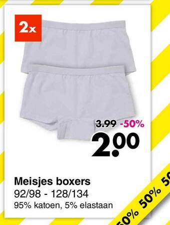Meisjes Boxers