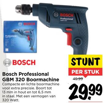 Bosch Professional GBM 320 Boormachine