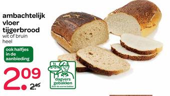 Ambachtelijk Vloer Tiigerbrood