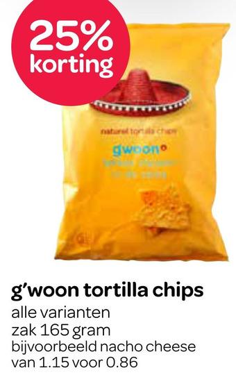 g'woon tortilla chips