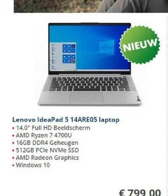 Lenovo IdeaPad 5 14ARE05 Laptop