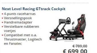 Next Level Racing GTrack Cockpit