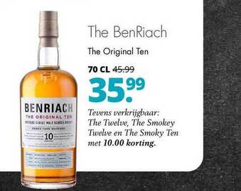 The BenRiach 70cl