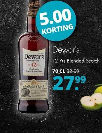 Dewar's 12 Yrs Blended Scotch 70cl