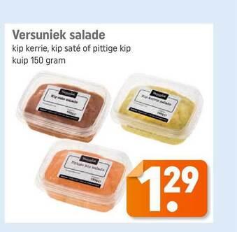 Versuniek Salade 150gram