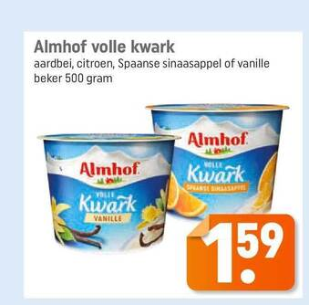 Almhof Volle Kwark 500gram