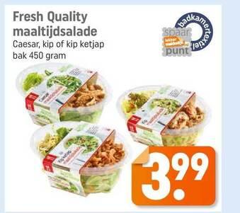 Fresh Quality Maaltijdsalade 450gram