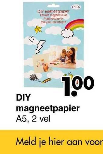 DIY Magneetpapiier