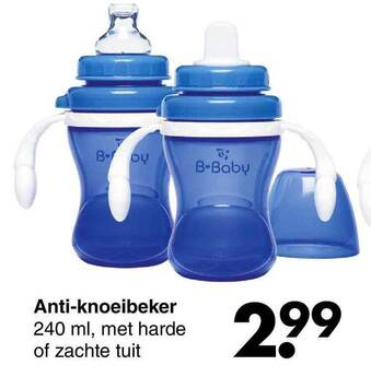 Anti-knoeibeker 240ml