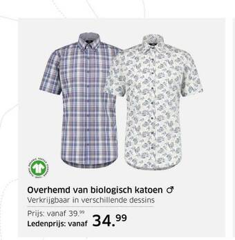 Overhemd Van Biologisch Katoen