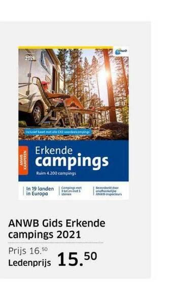 ANWB Gids Erkende Campings 2021
