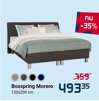 Boxspring Morero 120x200cm