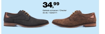 Geklede schoenen / Checker