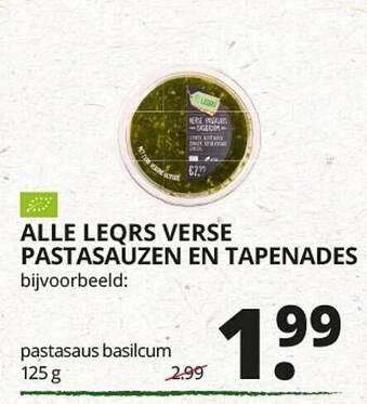 Alle Leqrs Verse Pastadauzen En Tapenades 125g