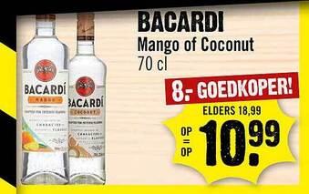 Bacardi Mango Of Coconut 70cl