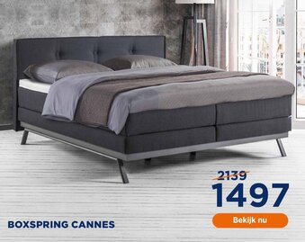 Boxspring Cannes