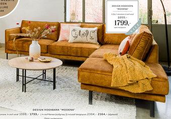 Design Hoeksofa Modena
