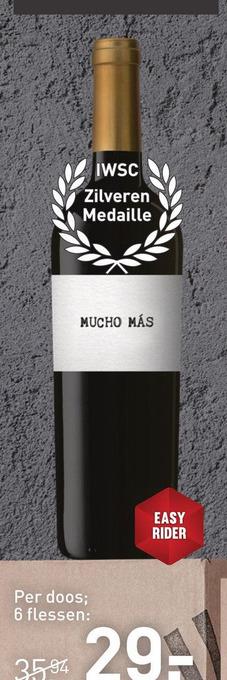 Mucho Más Tinto 75CL Wijn
