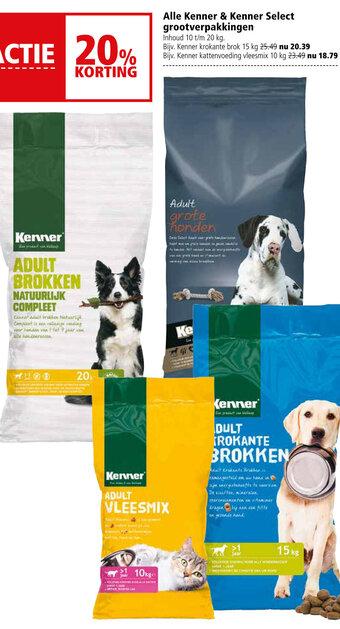 Kenner & Kenner Select grootverpakkingen 10kg